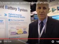 Watch: The storage+inverter system of Tabuchi explained #SPI