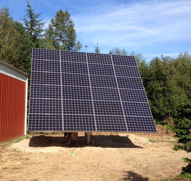 Washington State's First AllEarth Tracker Install