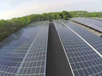 Bristol Community College shows off 3.2 MW solar parking canopy