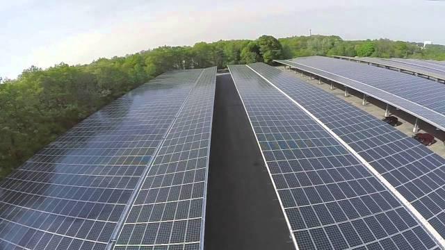 college solar carport