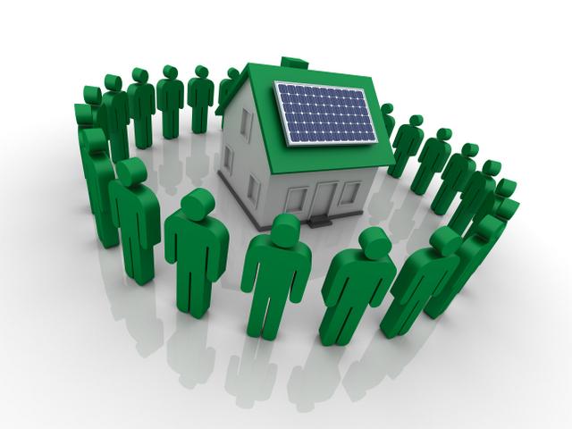 Community Solar financing utility