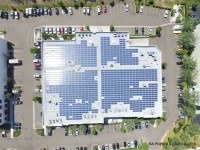 See a 270-kW rooftop system completed by SunLink, RA Power & Light