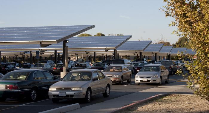 SunPower solar carport