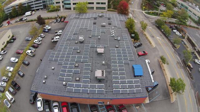 Nexamp - Nextility 88kW - Rooftop Closeup