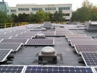 Details on 88-kW rooftop install at Schernecker Property Services by Nexamp