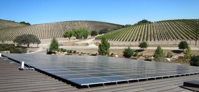 Niner Winery solar