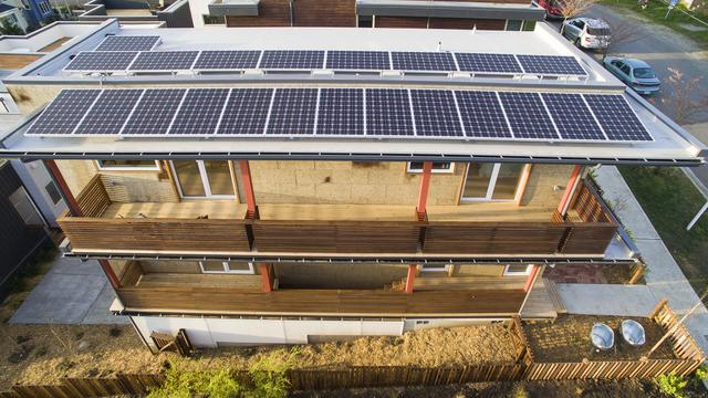 micro community Seattle solar