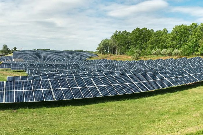 DCE Solar adjustable ground mount