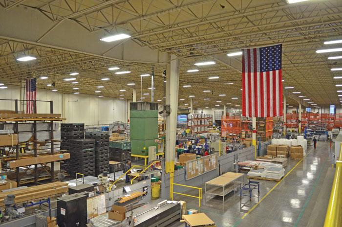 Solar-FlexRack manufacturing