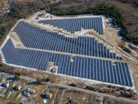Borrego Solar installation at 311 Emery Street in Palmer, MA. (Photo By: Greg M. Cooper / Borrego Solar)