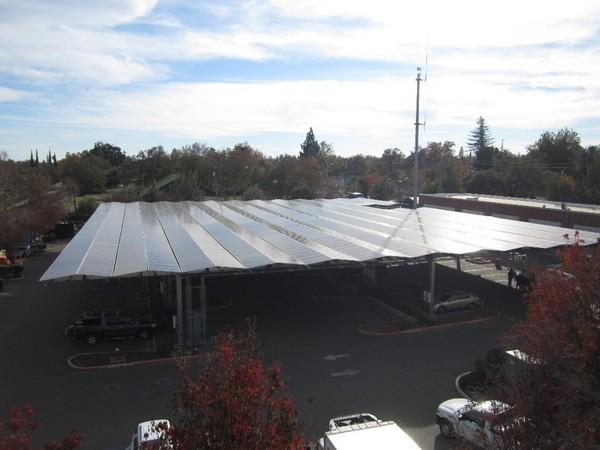 PCI Solar carport