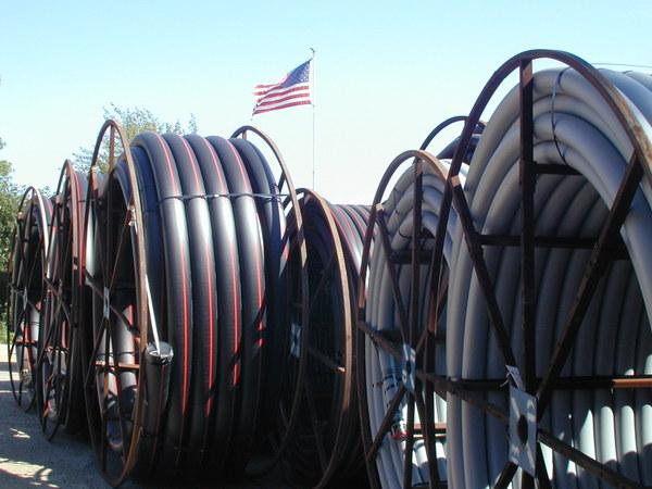 Blue Diamond Power conduits w flag Apr 2016