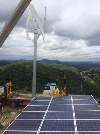 UGE solar microgrid