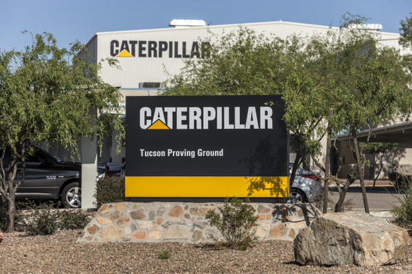Caterpillar - Tucson Proving Ground - Entrance