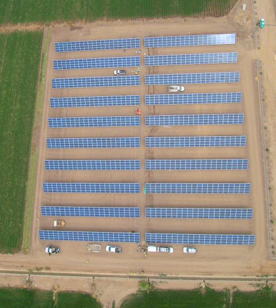 Mexico solar project