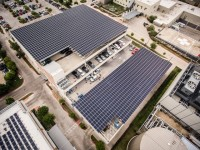 Check out Austin's largest rooftop solar array (via Freedom Solar)