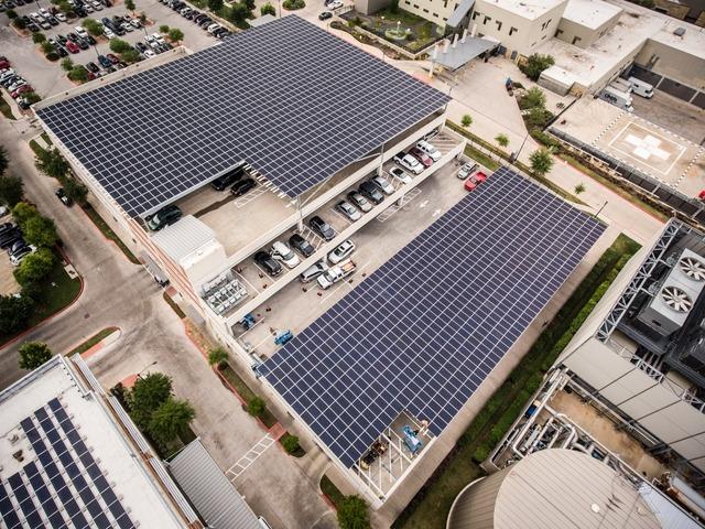 Austin Freedom solar rooftop
