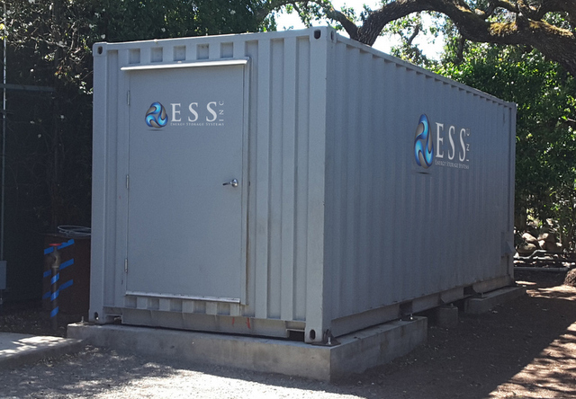 Check out this All-Iron Flow Battery from Energy Storage Systems