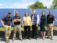 Solect Energy installs system at Thoreau Farm (for no charge)