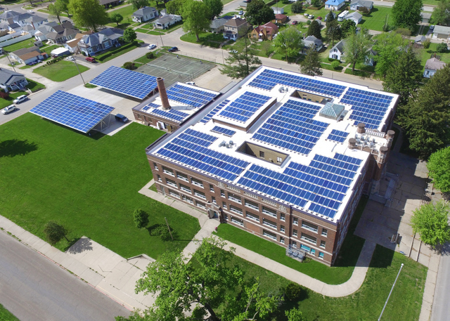 ideal energy school solar