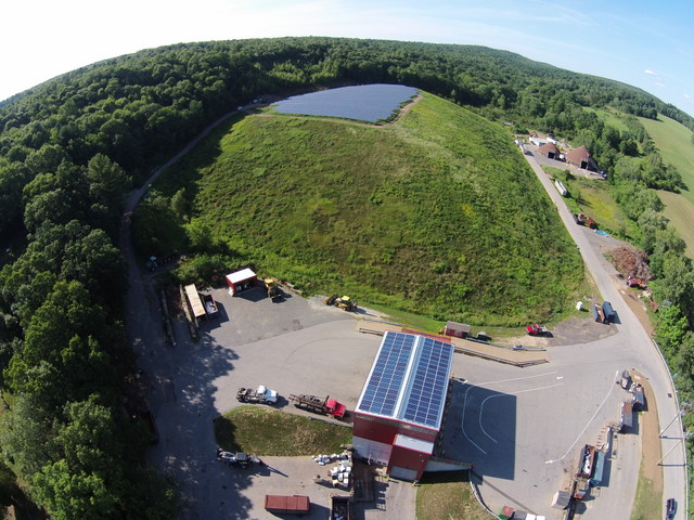 Stafford Landfill ground mount