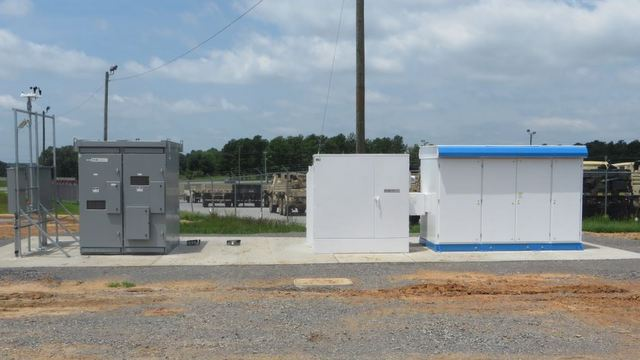 eaton fort campbell project
