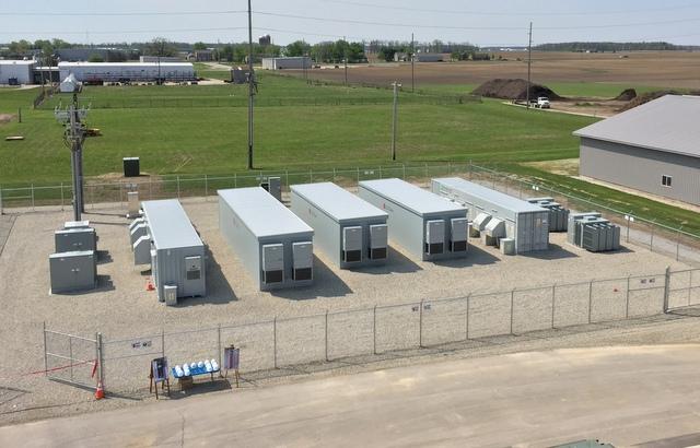 ohio solar storage project