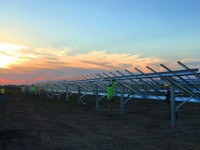 Iowa's largest utility-scale solar project installed with Solar FlexRack's G3 Fixed Tilt system