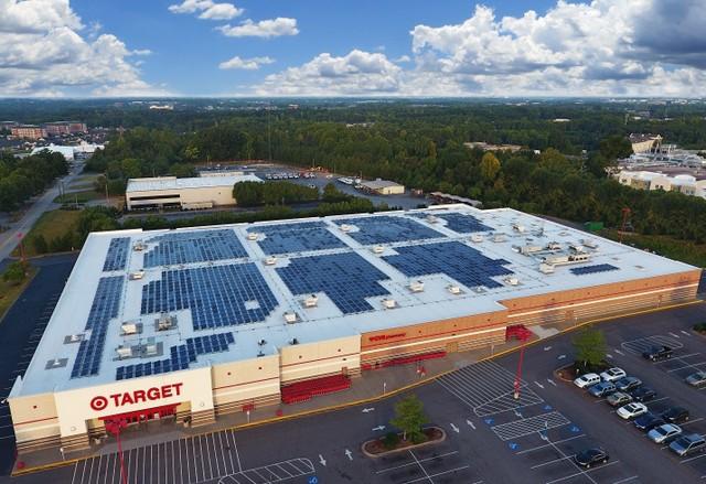Target solar install