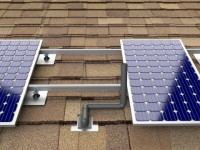 Details on a code change that allows for solar panels above plumbing vent pipes