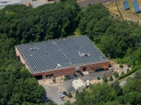 Here's a commercial install from Solect Solar.