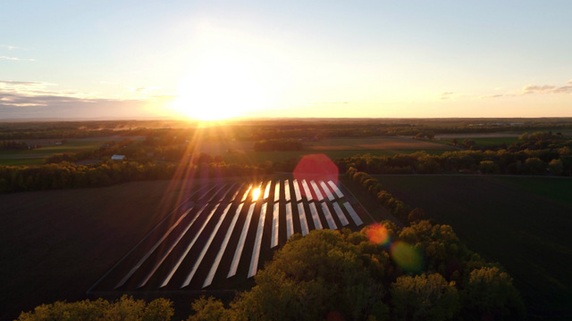 Ithaca College solar array PPA
