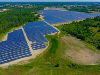Michigan's largest solar power plant installed with Solar FlexRack fixed-tilt racking