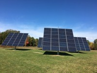 Organic farm in Maine adds four solar trackers via AllEarth Renewables