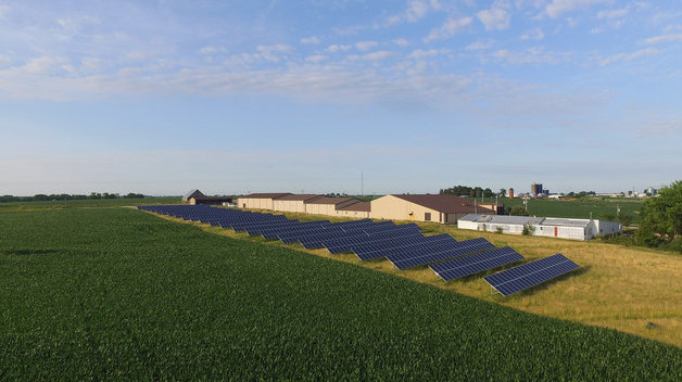 Iowa solar energy net metering