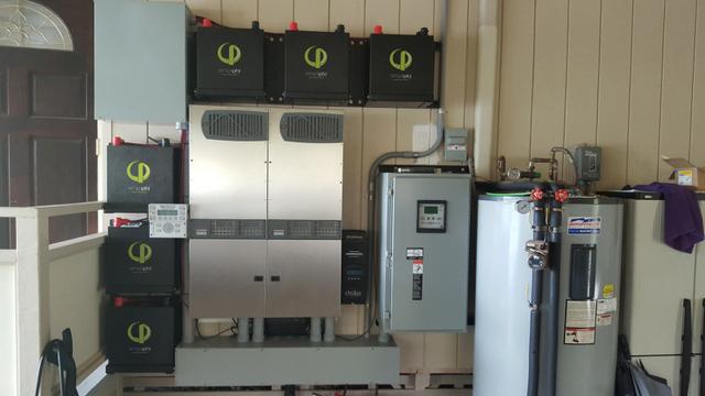 Solar + Storage Backup system