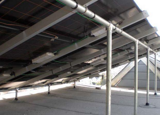 Hollaender S Speed Rail Brand Solar Pipe Rack Fittings Are