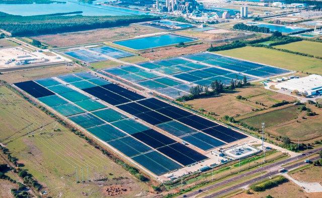 Big Bend solar plant