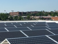 Details on one of the largest urban solar projects in the U.S. nearing completion