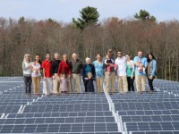 Beaumont Solar completes 330-kW solar array atop New England's Poyant Signs