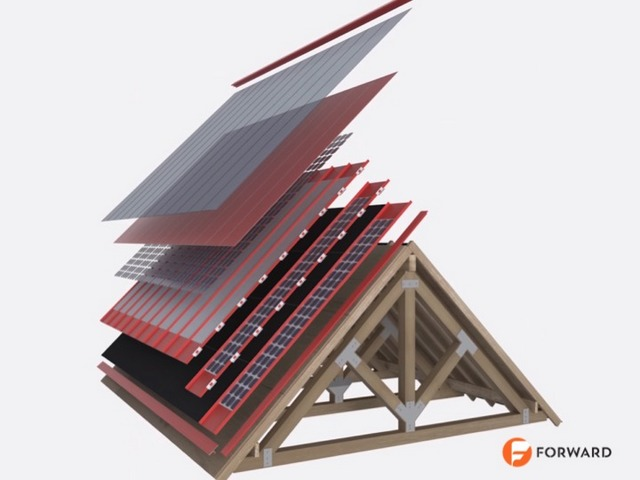 Forward Solar Roof Technology Cut-Out