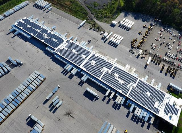 dynamic energy solar project