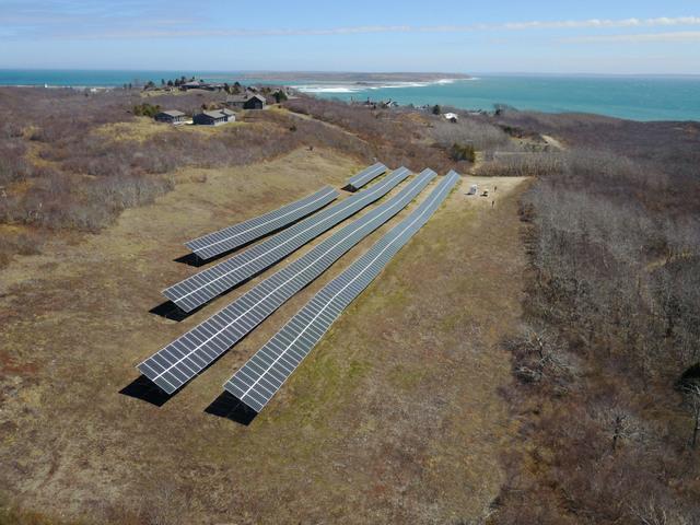 Cuttyhunk solar array