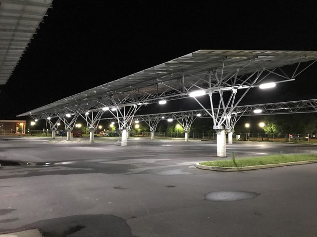 Check Out This 541 Kw Solar Canopy Project At Salisbury