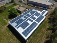 Kingspan Energy installs 500 PV panels atop Ulbrich Shaped Wire