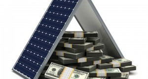 solar panels and money