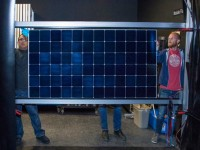 Details on SunPower's new Silicon Valley production line for HE solar modules