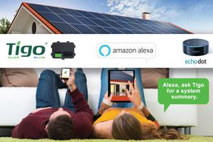 Tigo with Amazon Alexa
