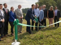 A 6.9-MW community solar project completed on Massachusetts farm