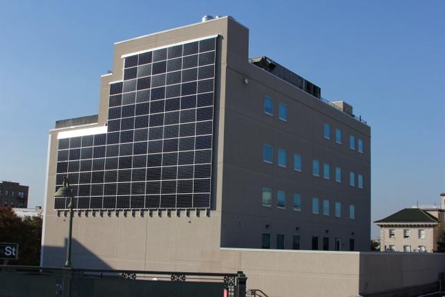 Urban Health solar wall